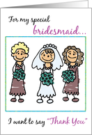 For my special bridesmaid I want to say card