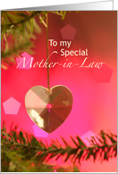 To my Special Mother-in-Law card