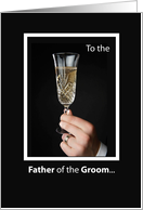 To the Father of the Groom ... card