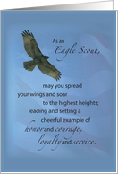 Eagle Scout, Congratulations, Soar to Highest Heights card