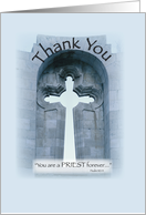 Priest Thank You card
