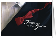 Father of the Groom, Thank you! card