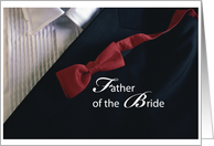 FATHER of the BRIDE, Thank you! card