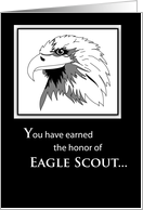 Eagle Scout Honor card