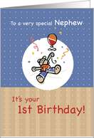 Nephew 1st Birthday card