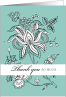 Grandparents Thank You card