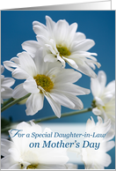 Daughter-in-Law on Mother's Day Daisies card