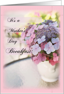 Breakfast Invitation Mother'S Day card