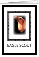 Thank You Eagle Scout Virtues card