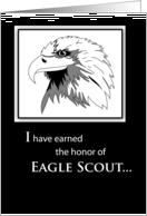 Eagle Scout Thank You card