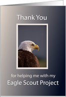 Eagle Scout Project Thank You card