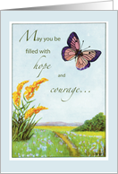 Heart Surgery Hope Filled card