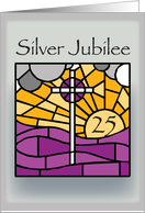 Silver Jubilee Religious Life card
