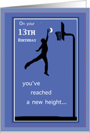 13th Birthday Basketball card