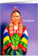 Hangawi Traditions and Blessings card