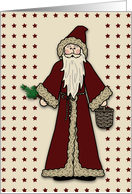Feast of St. Nicholas card