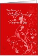 Mother-in-Law, Valentine's Day card