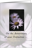Anniversary of Ordination, Religious card