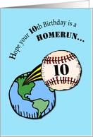 10th Birthday Baseball card