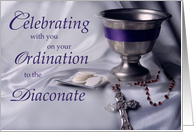 Deacon Ordination, Congratulations Christian Ordained Diaconate card