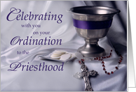 Priest Ordination, Congratulations Christian Ordained Priesthood card