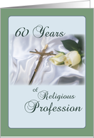60 Years of Religious Profession, Anniversary card