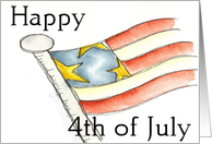 Americana ...Happy 4th Card