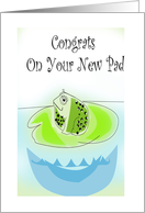 Congratulations On Your New Pad card