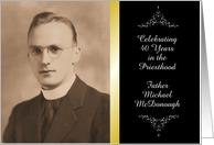 Custom Religious Anniversary invitation card