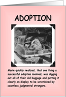 A Happy Adoption card