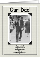 Our Dad the old Fart card