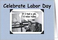 Celebrate Labor Day card