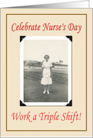 Nurses day- FUNNY card