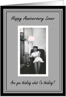 Happy Anniversary Lover card
