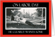 Labor Day Lovin' card