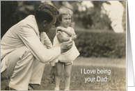 Dad to Daughter on Engagement Congratulations card