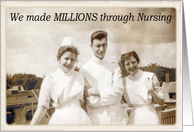 Millions through Nursing card