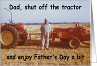Farmer Dad - Father's Day card