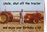 Farmer Uncle - Birthday card
