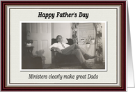 Father's Day - Minister card