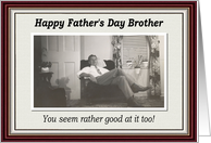 Father's Day - Brother card