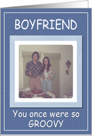 Fathers Day Boyfriend - FUNNY card