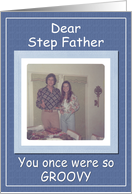 Father's Day Step Dad - FUNNY card