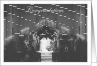 Wedding Congratulations - Religious card