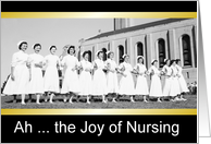 Nurses Day - Vintage card
