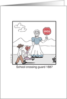ISG School Crossing Guard card