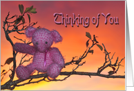 Sunrise Bear card
