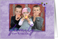 Mother's Day-photo card for Great-Grandma card