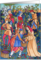 Vineyard Harvest card