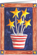 Growing Patriotism card